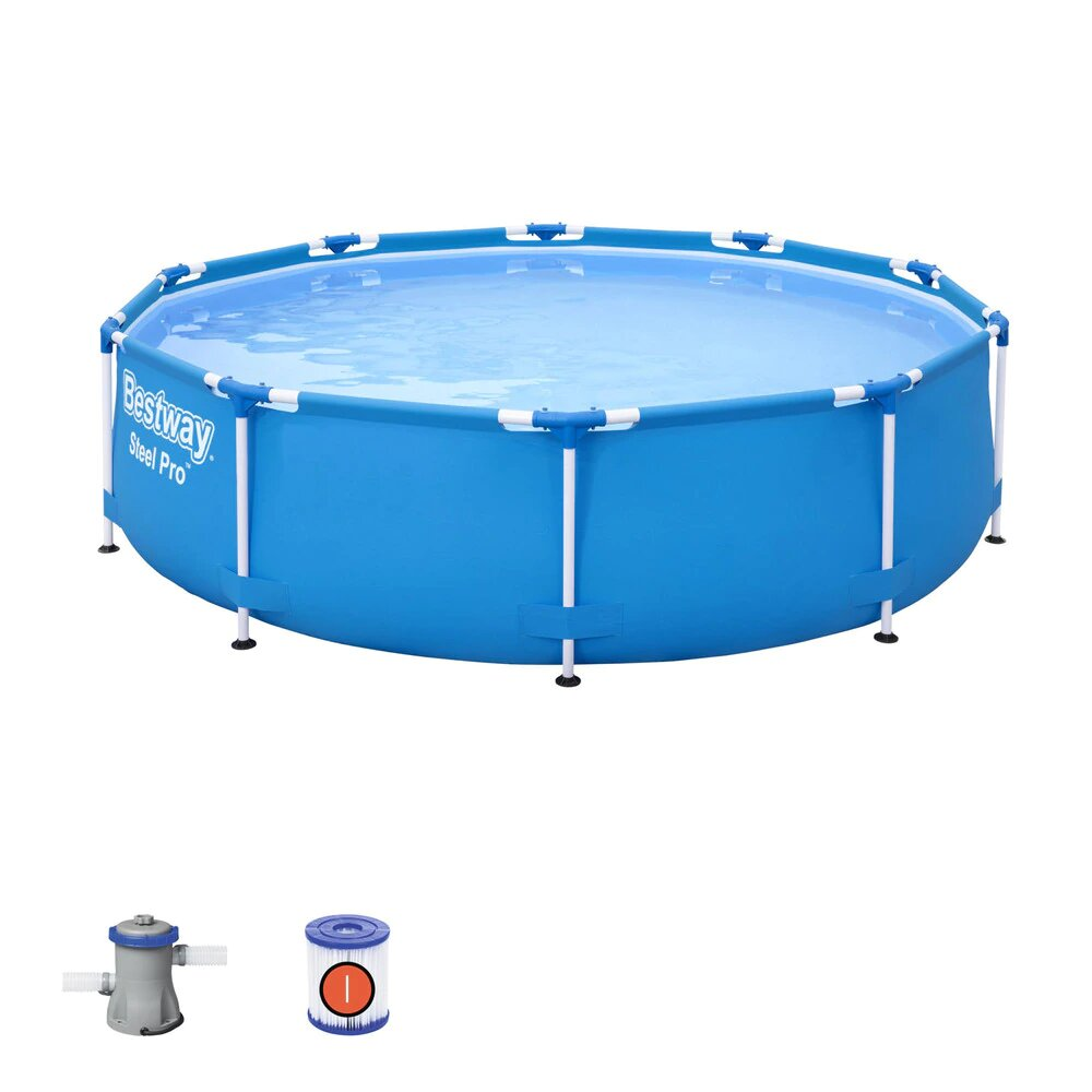 Piscina Desmontable Tubular Bestway Steel Pro